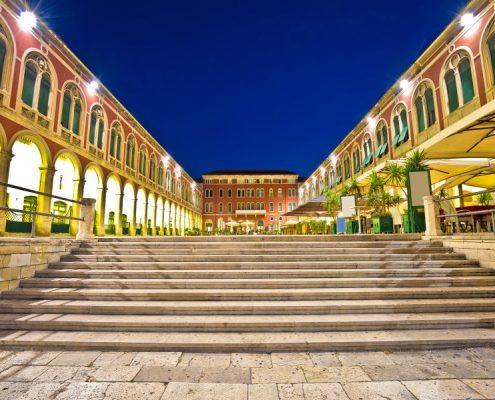 Prokurative square in Split