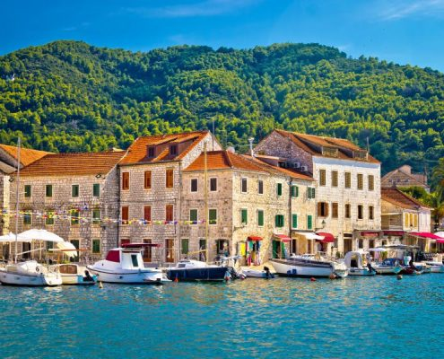 Stari Grad Waterfront View Un Hvar