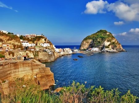 View of sant-angelo, Ischia island