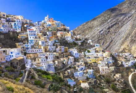 Beautiful villages of Greece - impressive Olimbos in Karpathos i