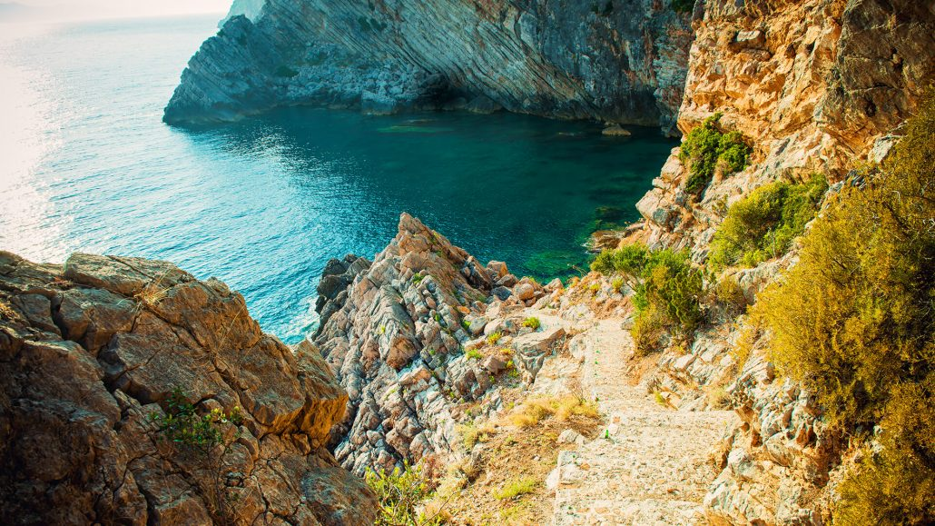 Adriatic coast in Croatia, Island Sipan