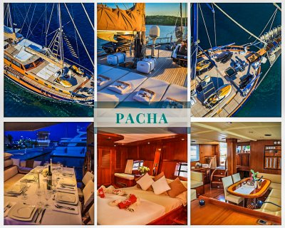 Luxury gulet Pacha