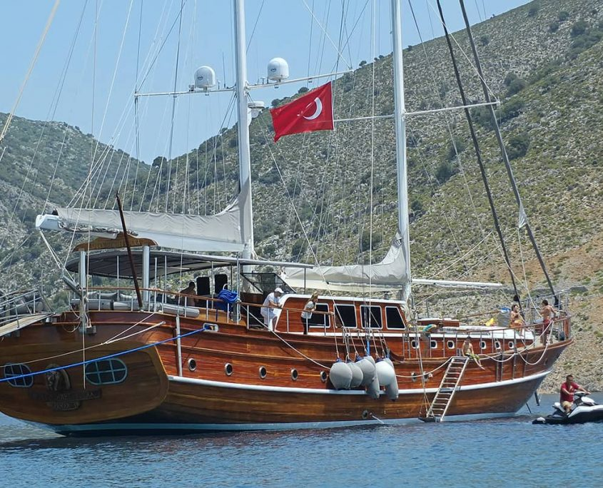 KAPTAN MEHMET BUGRA Anchored