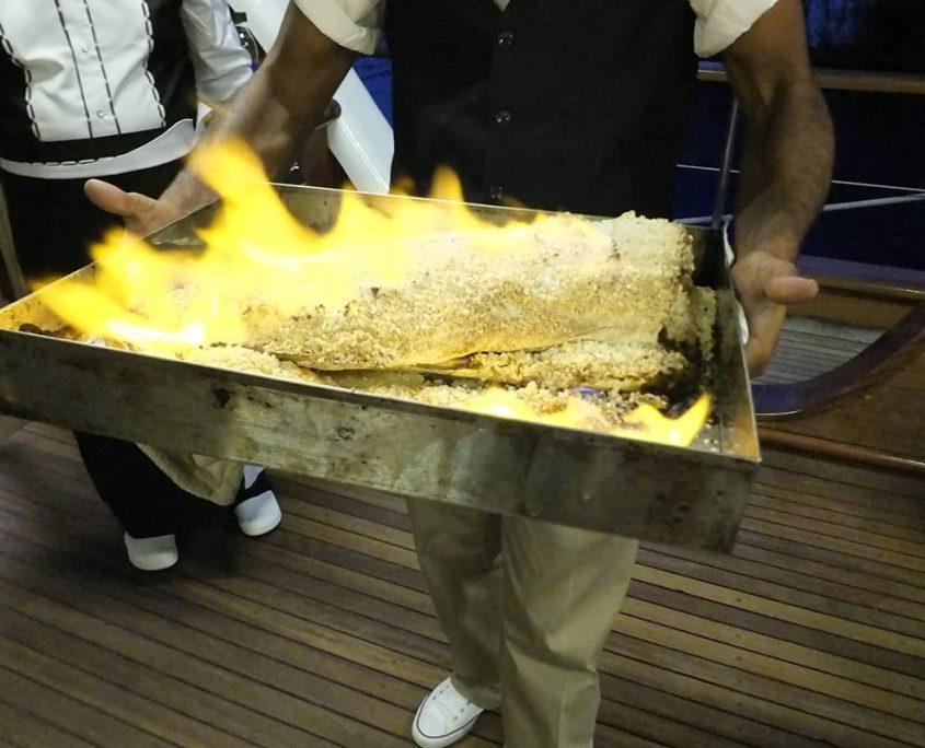 KAPTAN MEHMET BUGRA Food specialties