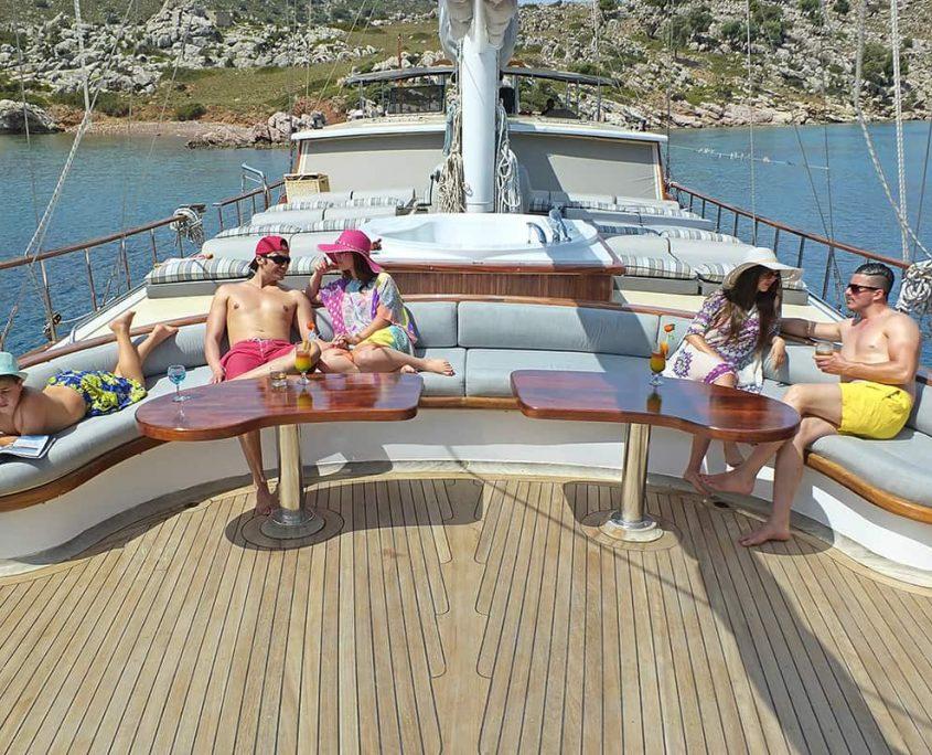 KAPTAN MEHMET BUGRA Front deck