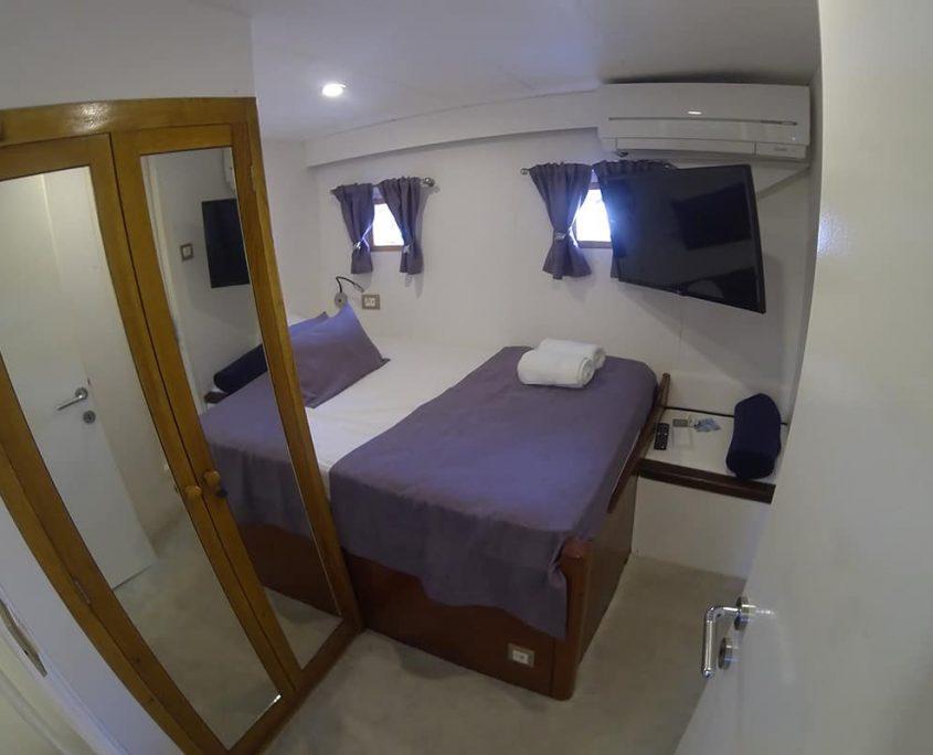 DAMA Cabin view