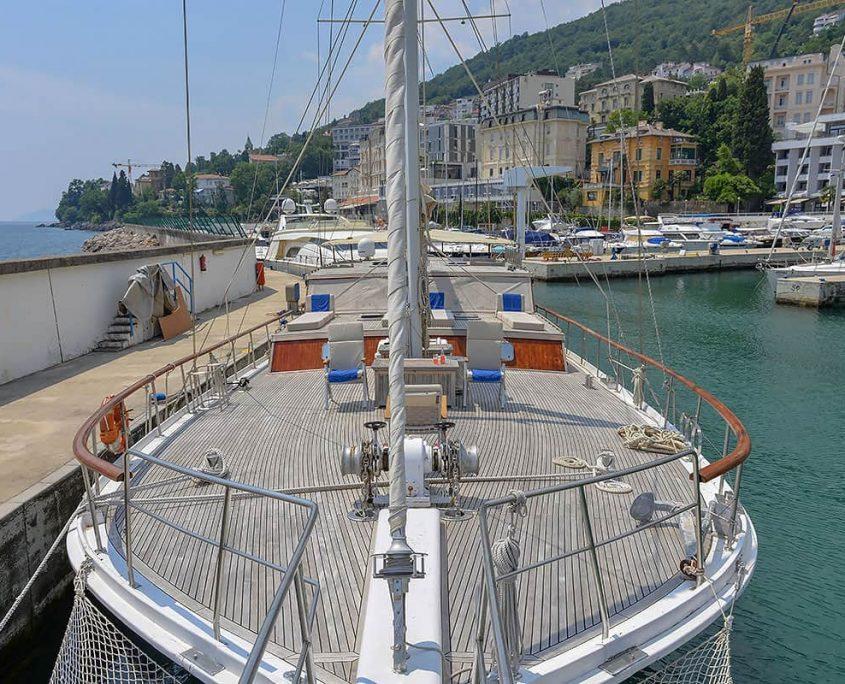 SUMMER PRINCESS Front deck