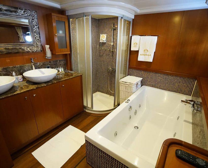 ARABELLA Master cabin bathroom