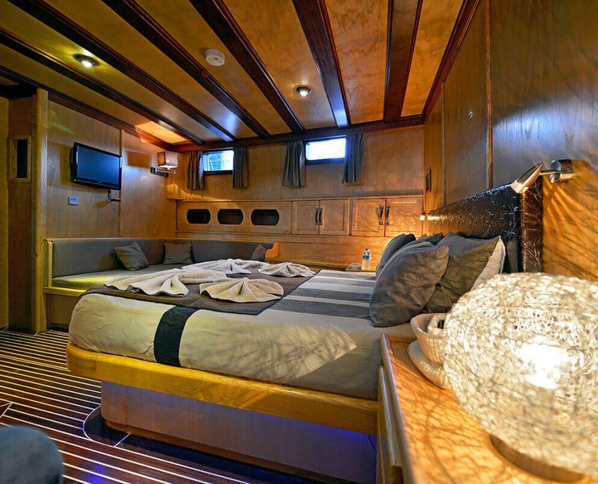 DERIN DENIZ Cabin view