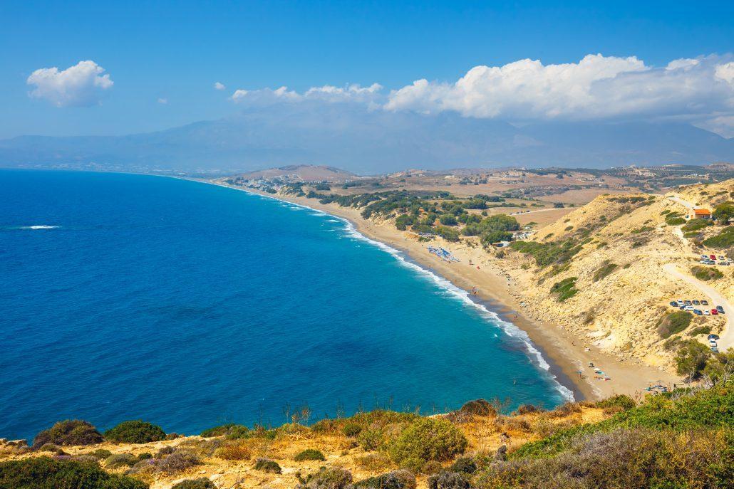 Greece coast cerete