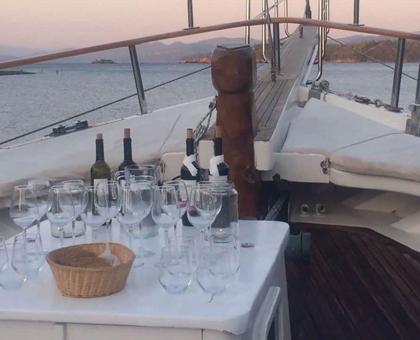 LA REINE Wine tasting