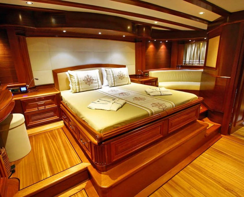 KAYA GUNERI 5 Master cabin