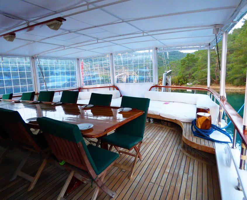 SADRI USTA 1 Back deck