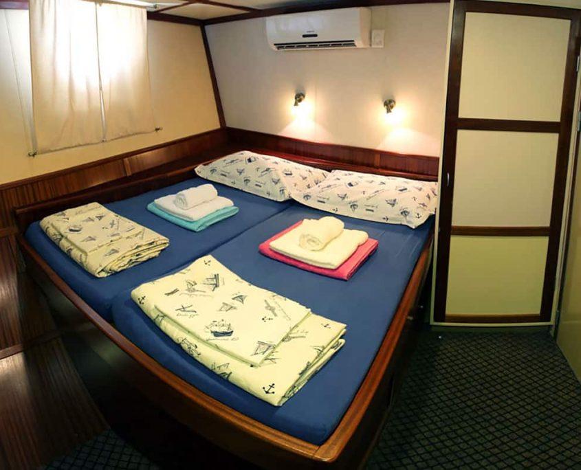 TAJNA MORA Double cabin