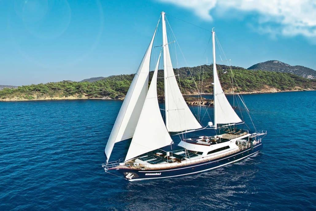 Gulet sailboat