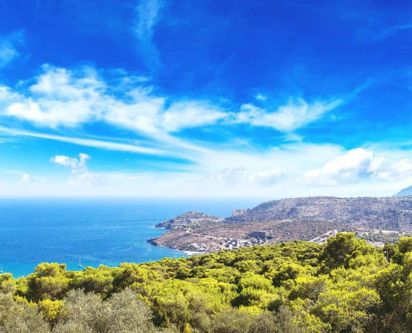 Landscape-of-Aegina island