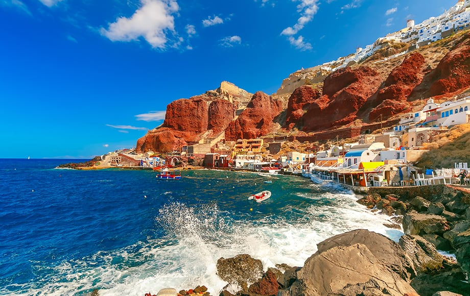 Santorini-island-in-Aegean-sea