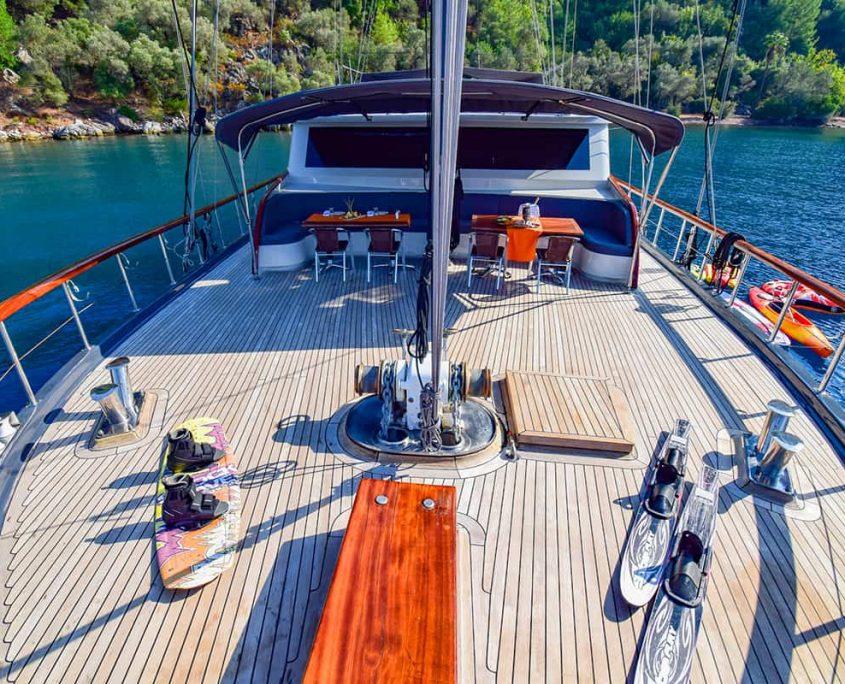 UGUR Front deck