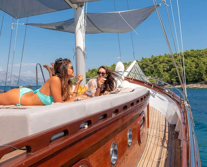 Unique sailing experience on Slano
