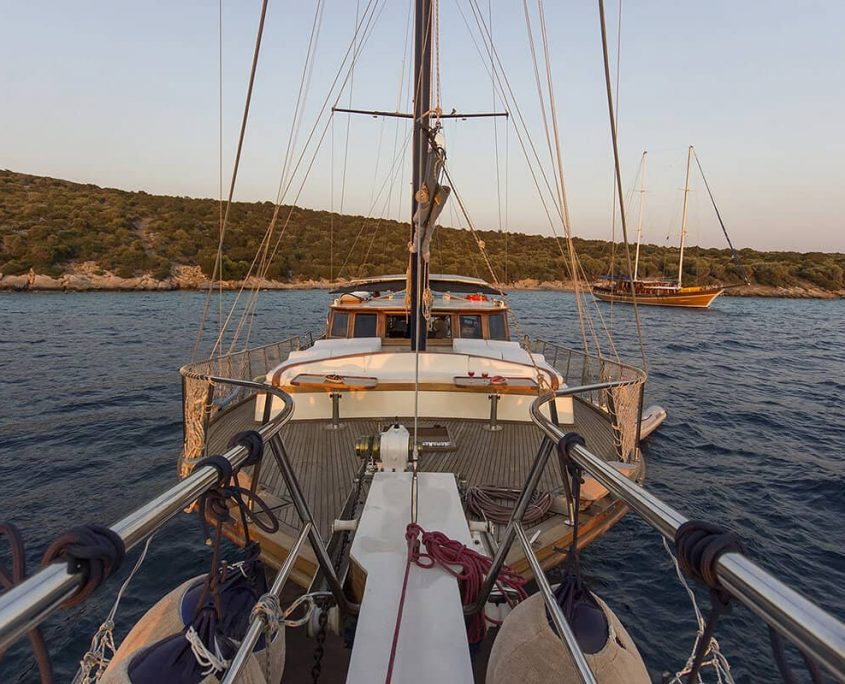 KARIA Foredeck from Bowspirit