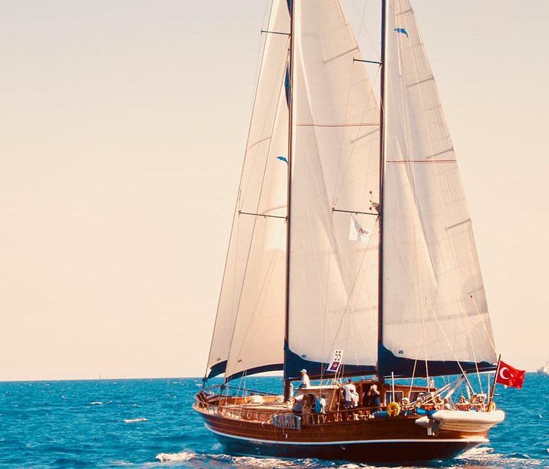 KAPTAN SEVKET Sailing