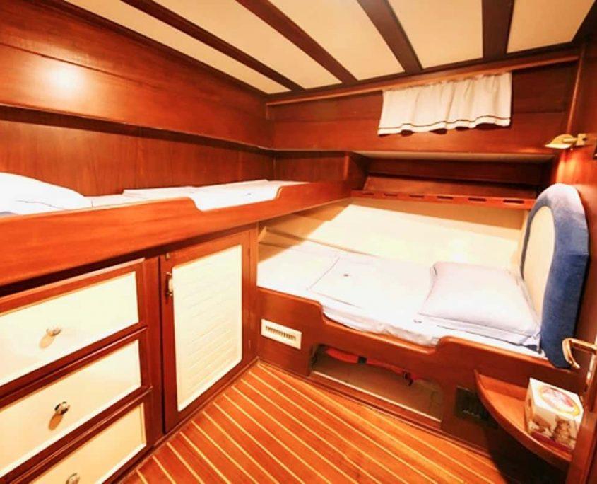 KAPTAN SEVKET Twin cabin