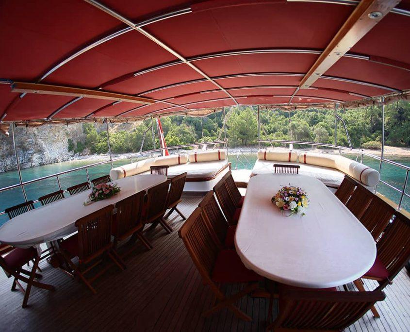 CAFEROGLU 7 Aft deck