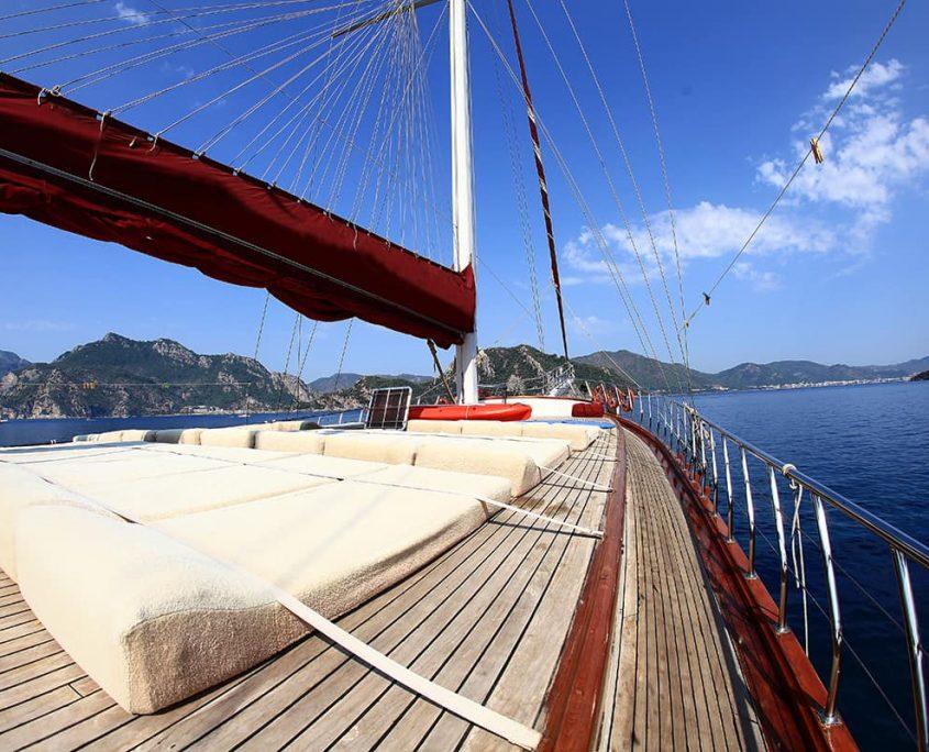 CAFEROGLU 7 Sun deck