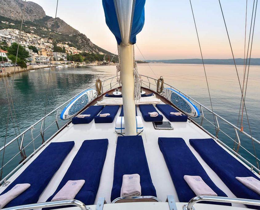 SAINT LUCA Sun deck