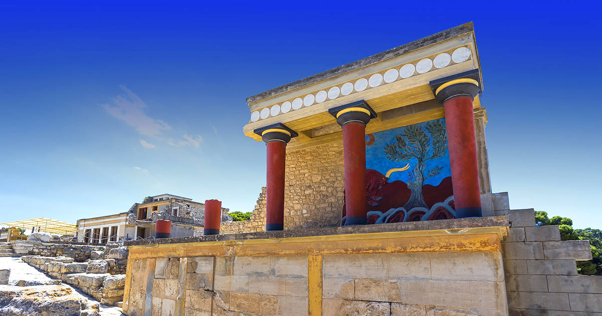 Palace of Knossos, Crete, Greece