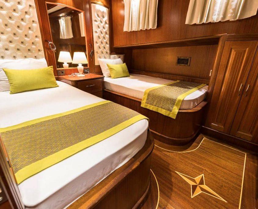 VISTA MARE Twin cabin
