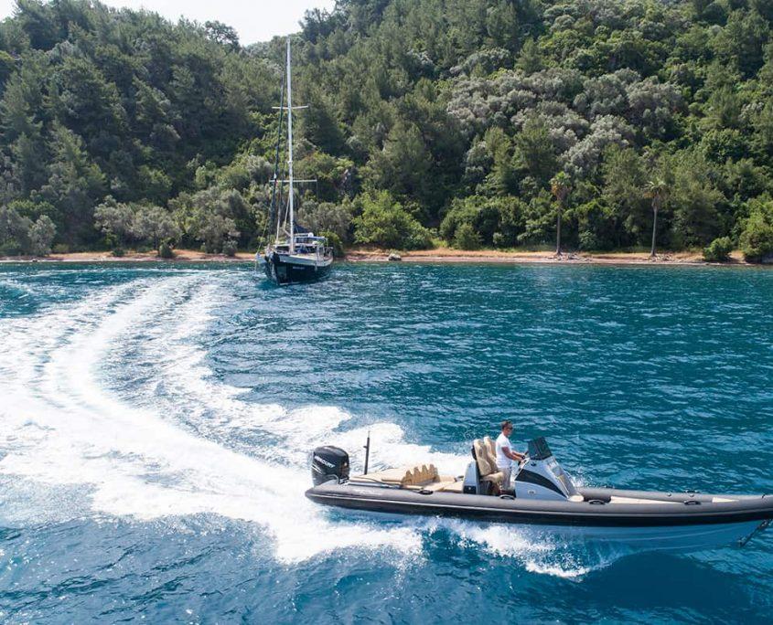 VIVA SHIRA Tender boat